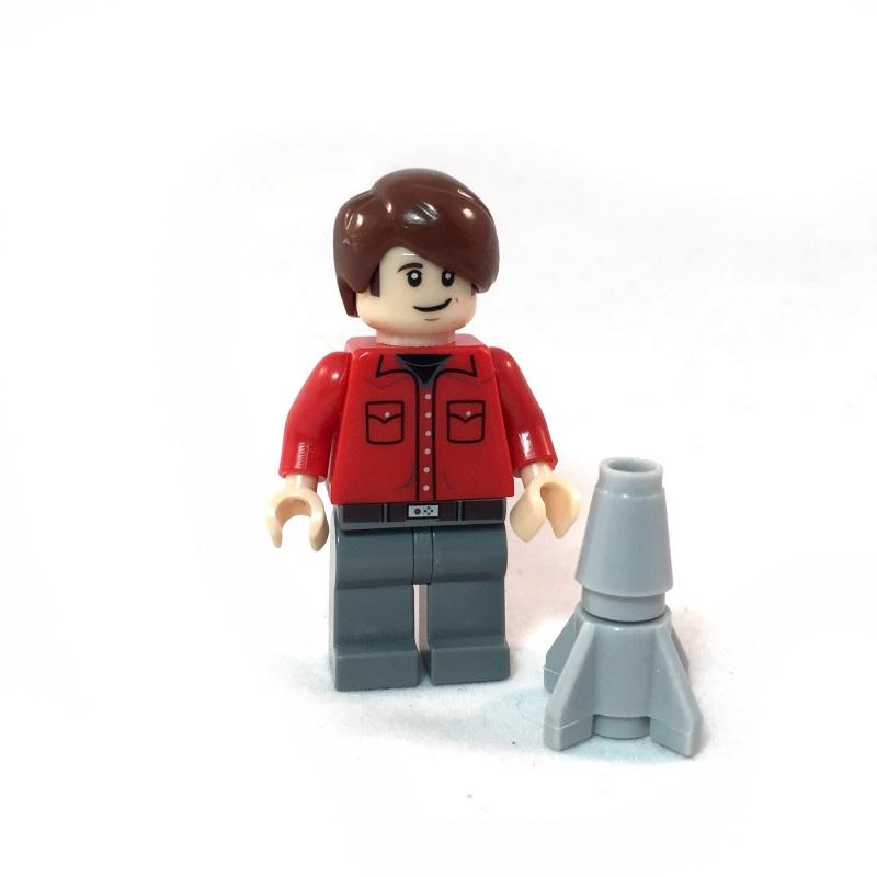 The Big Bang Theory LEGO Minifig Set - Howard Face 1