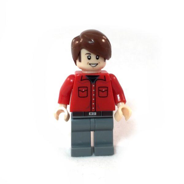 The Big Bang Theory LEGO Minifig Set - Howard Face 2