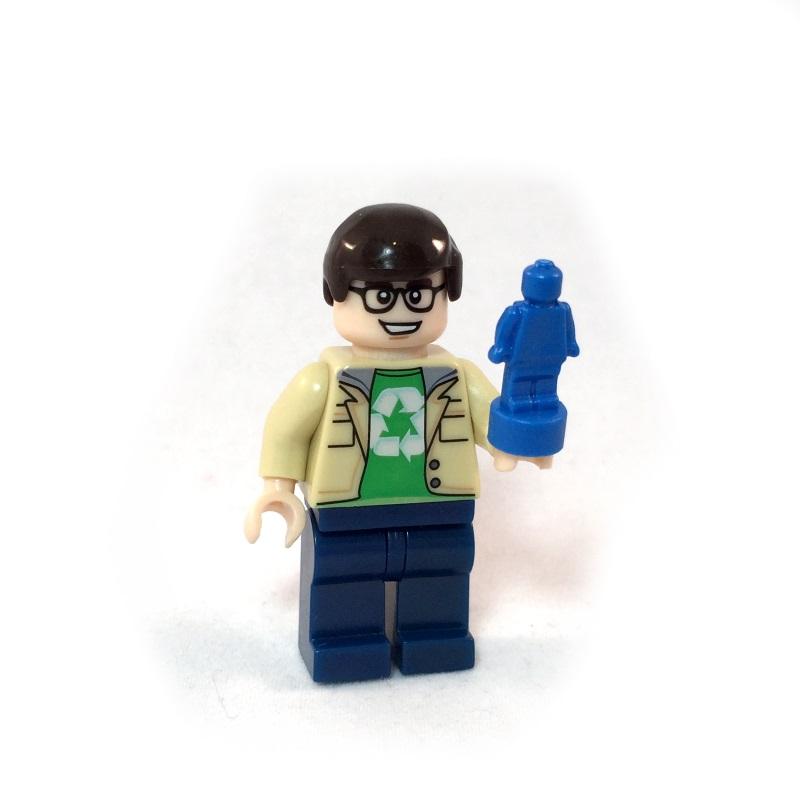 The Big Bang Theory LEGO Minifig Set - Leonard Face 1