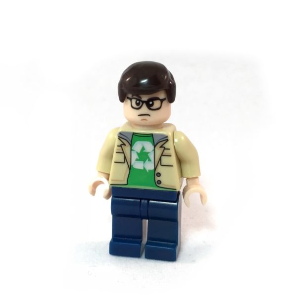 The Big Bang Theory LEGO Minifig Set - Leonard Face 2