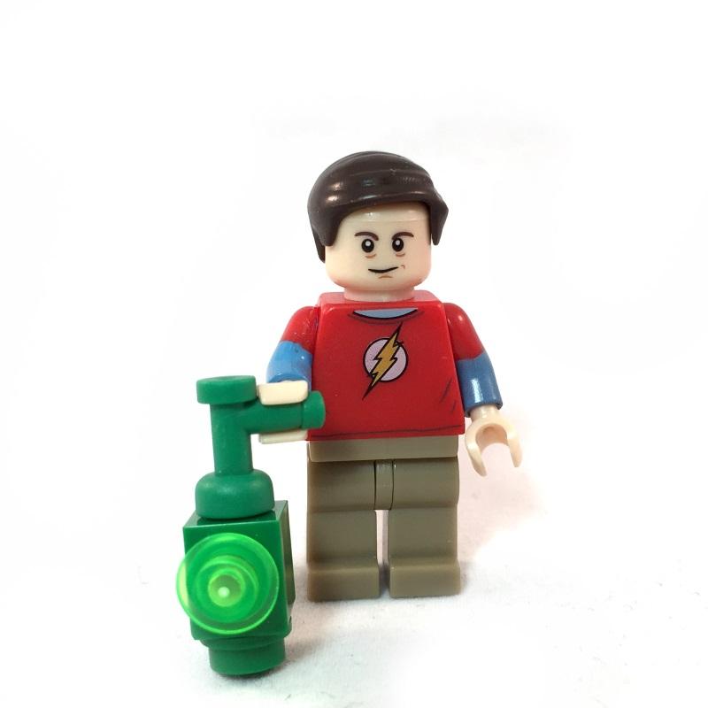 The Big Bang Theory LEGO Minifig Set - Sheldon Face 1