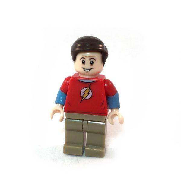 The Big Bang Theory LEGO Minifig Set - Sheldon Face 2