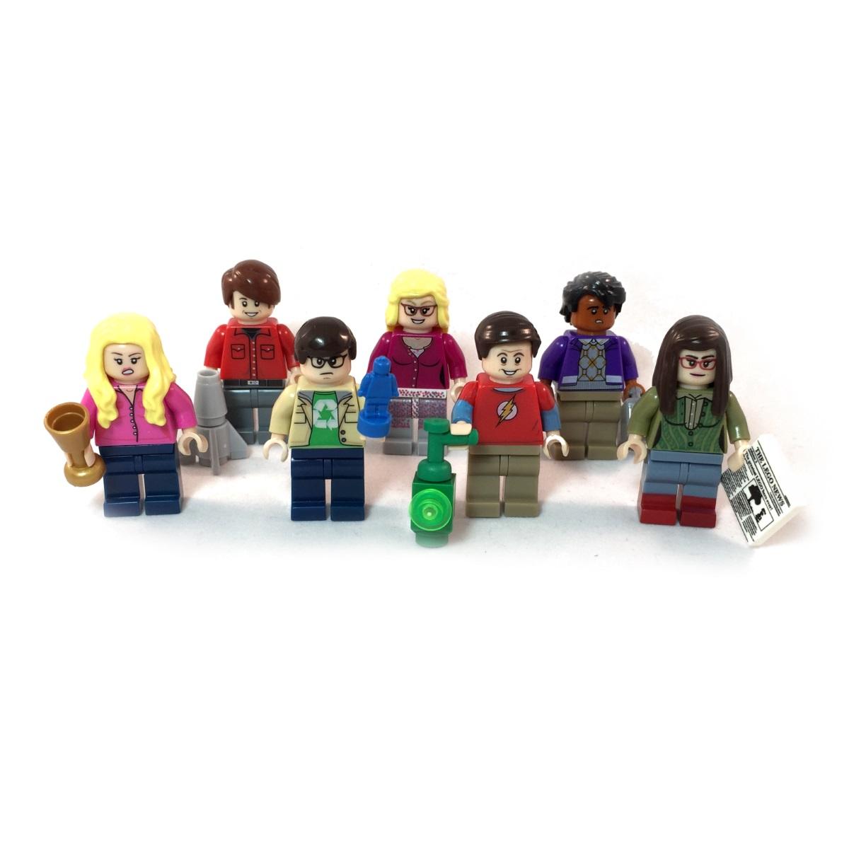 The Big Bang Theory LEGO Minifig Set