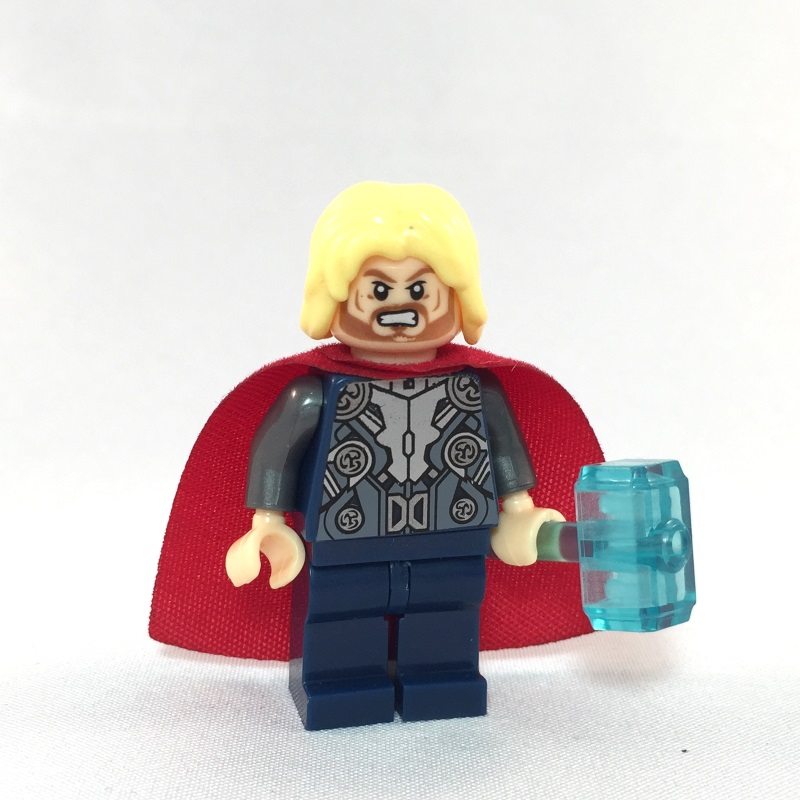 Thor LEGO Minifig Age of Ultron - Face 1
