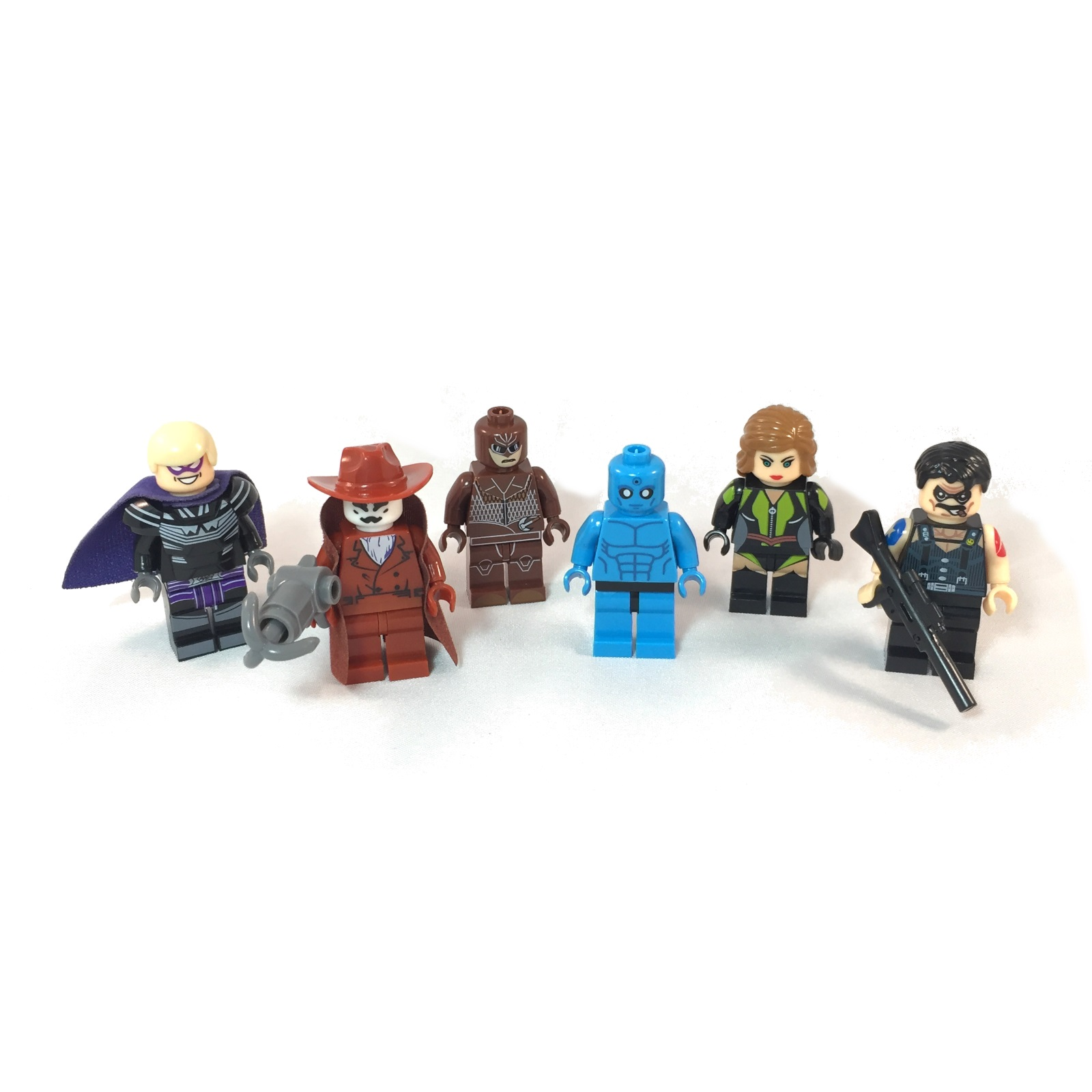 Watchmen LEGO Minfigs - Set of 6