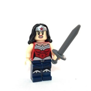 Wonder Woman LEGO Minifig - Face 1