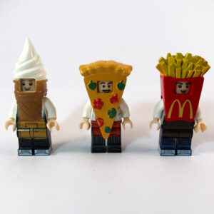 Fast Food Minifig Set - Full set product image